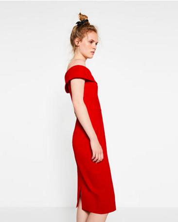 Mid length tube dress