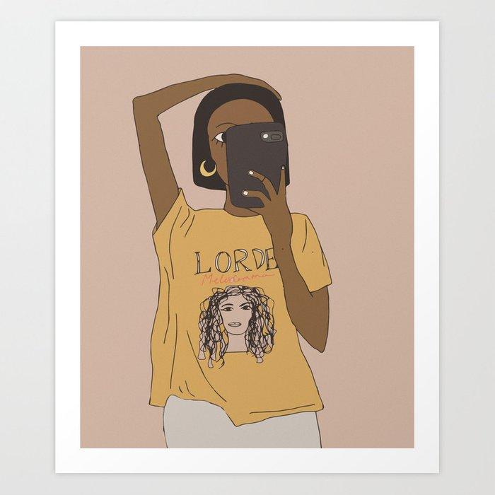 Lorde (art print)