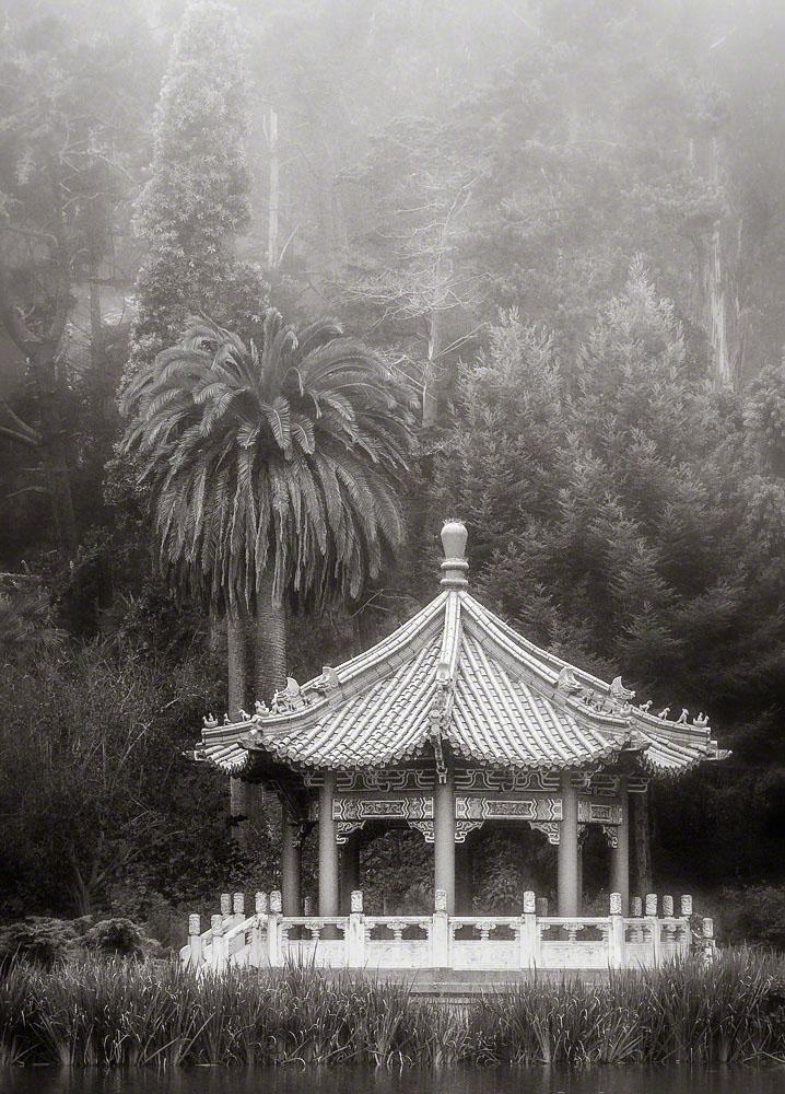 Chinese Pavilion, Morning Fog