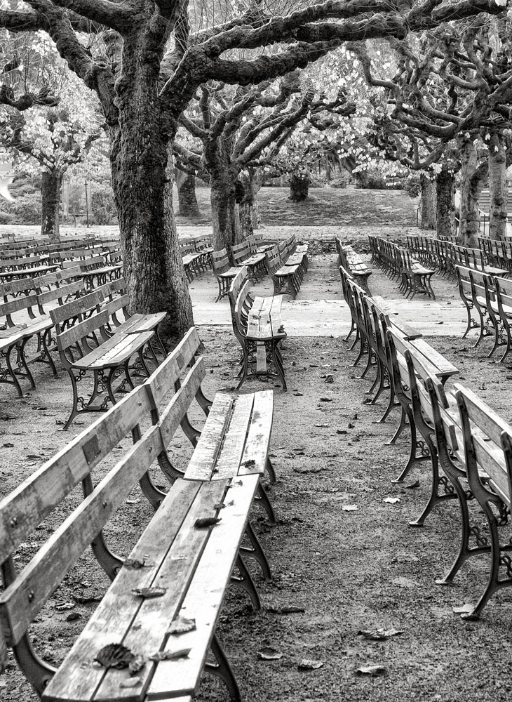 Benches, Music Concourse