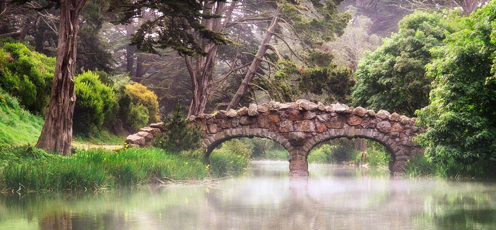 Stone Bridge, Stow Lake