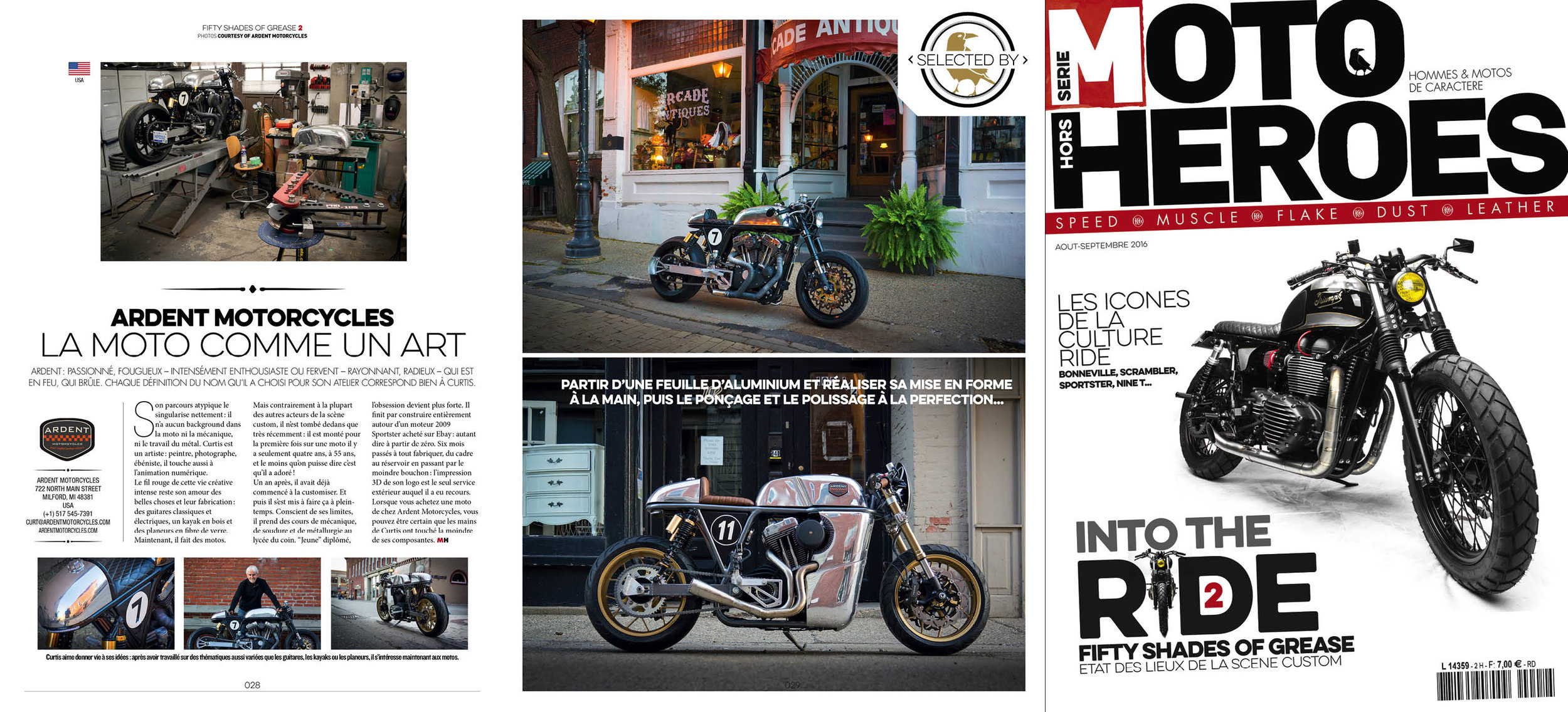Here's the spread in Moto Heroes