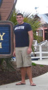 """Probably one of my leanest years, 2010, the same year my mom passed. Here I believe I'm around 255lbs at 6'6""""."""