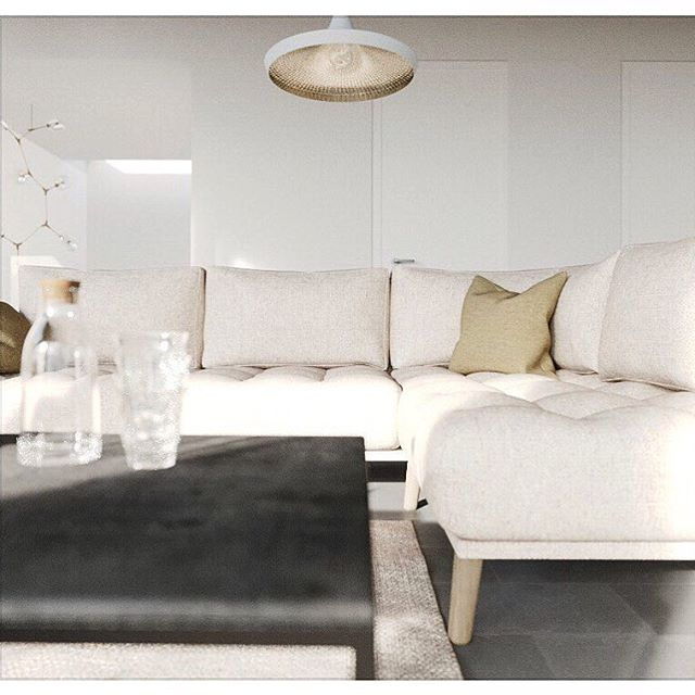 Small crop of a newly completed projects living space...