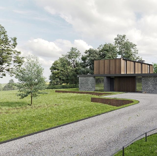 Pleased to hear that this recently completed project overlooking the #Chilterns has just been granted planning consent . . . #architecture #CGI #render #architecturalvisualisation #architecturalrender #coronarender #archviz #3dsmax