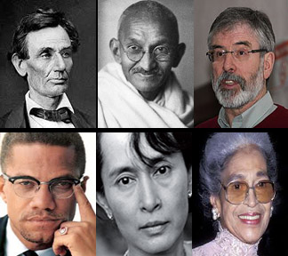Malcolm X / Aung-San-Suu-Kyi / Rosa Parks