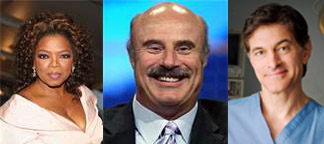 Talk show hosts - Winfrey Dr. Phil Dr. Oz