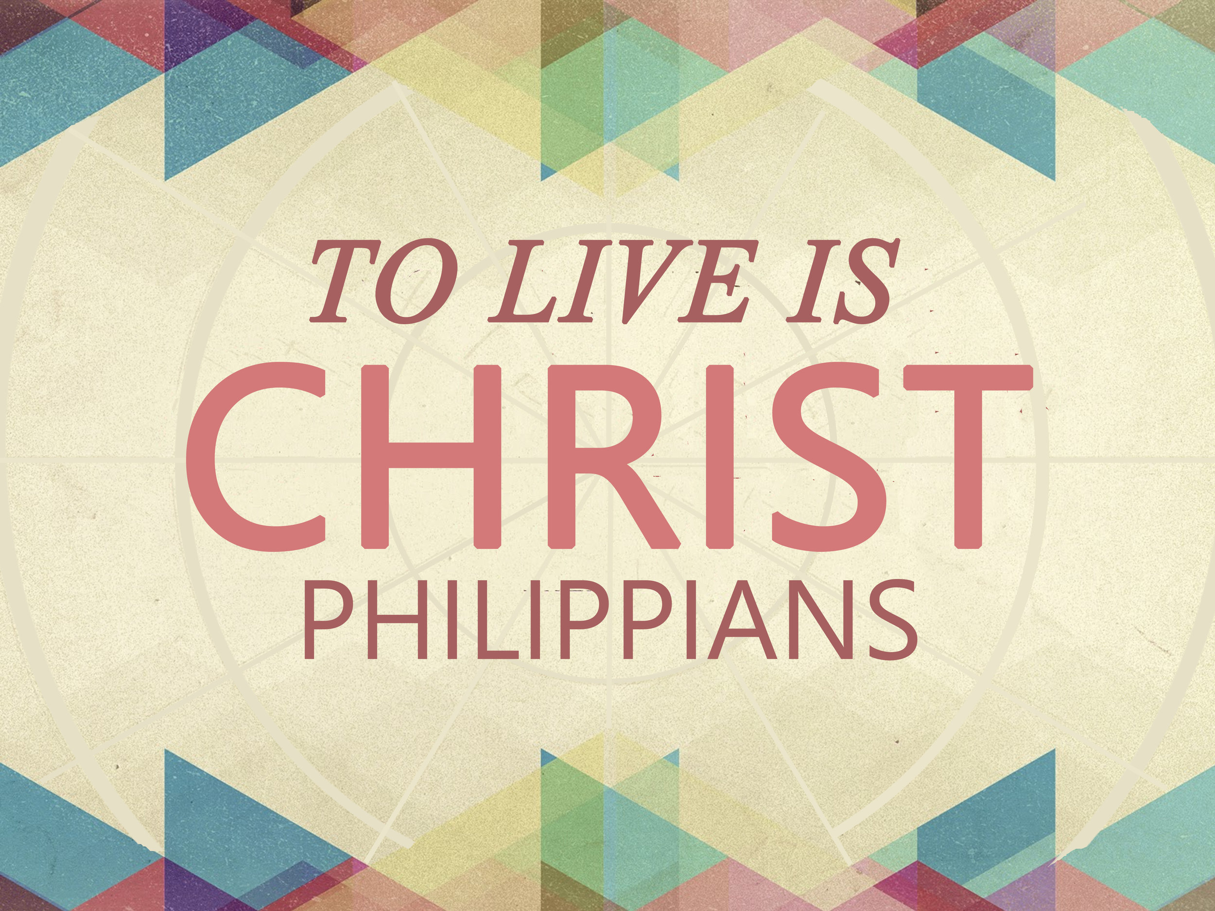 We are studying the book of Philippians. As we do look into this book, we will discover what it means to live as God desires. -