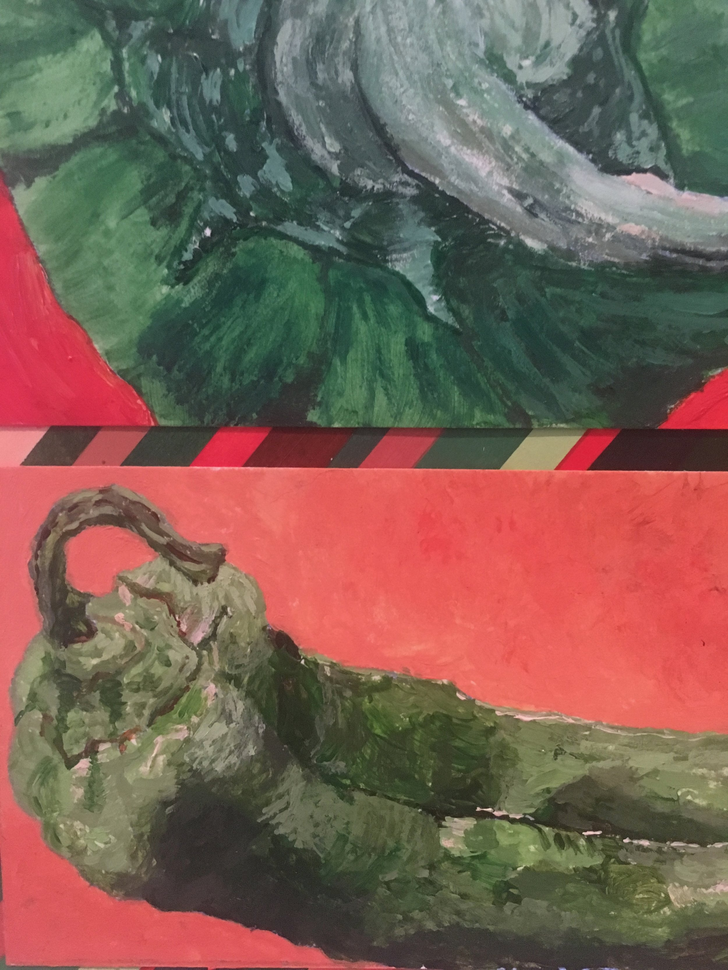 Study of Peppers (Acrylic 11x14)