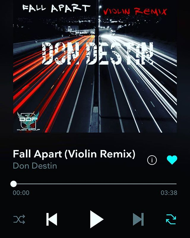 DON DESTIN STREAMING ON TIDAL NOW!!! 🔥 🔥 🔥  #tidal #streaming #DDPMUSICGROUP