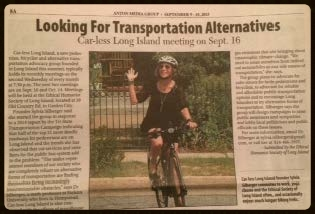 The press article about Car-less Long Island appeared in most (or all?) of the Anton papers.