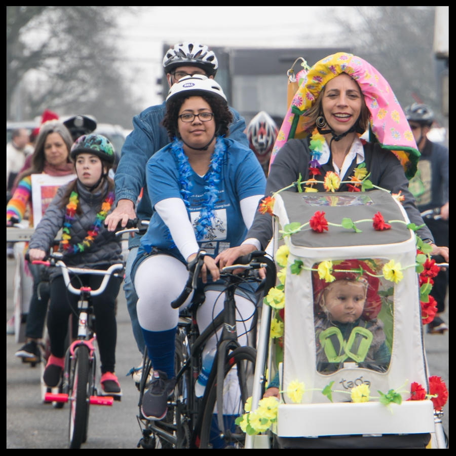 """""""The wheels on the bike go round and round .. """" (Photo credit, Amy Fruschour Kelly)"""