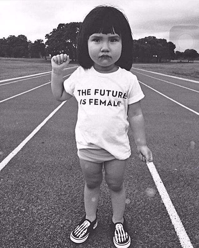 Can't stop..won't stop! ✨ 💖 ✨ #GIRLPOWER #thefutureisfemale #equality #girlpower #pinterestfind