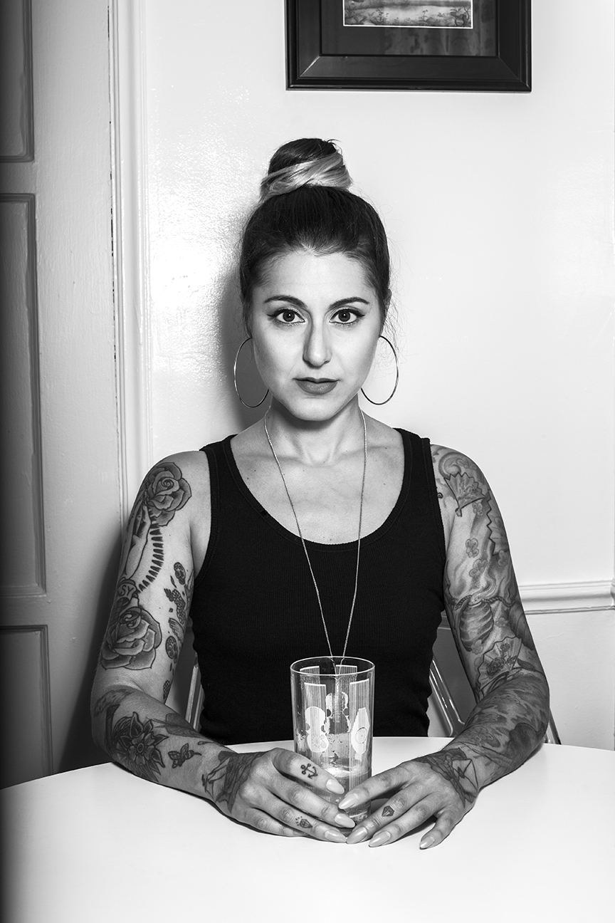 """Punk frontwoman Jenny Angelillo """"has nothing to promote."""" She does, however, want a coffee date with Henry Rollins."""