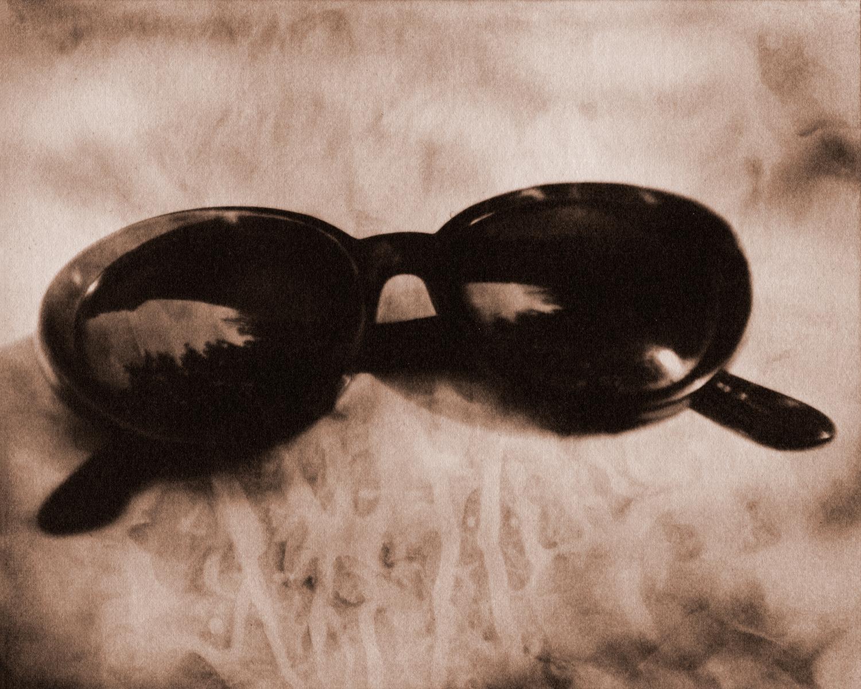 Cheap sunglasses.