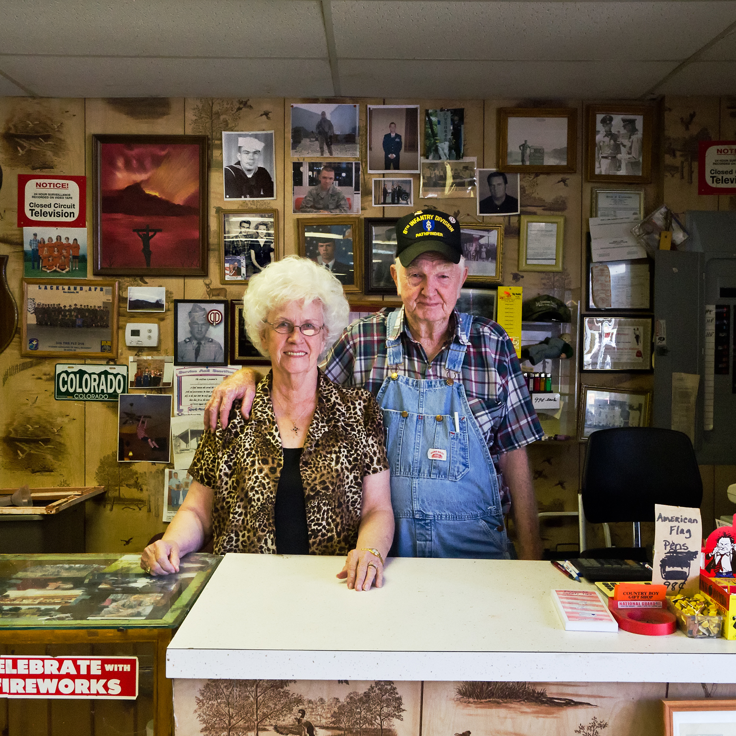 Barbara and Raymond Layel, Jr. Country Boy Gift Shop. Bean Station, TN.