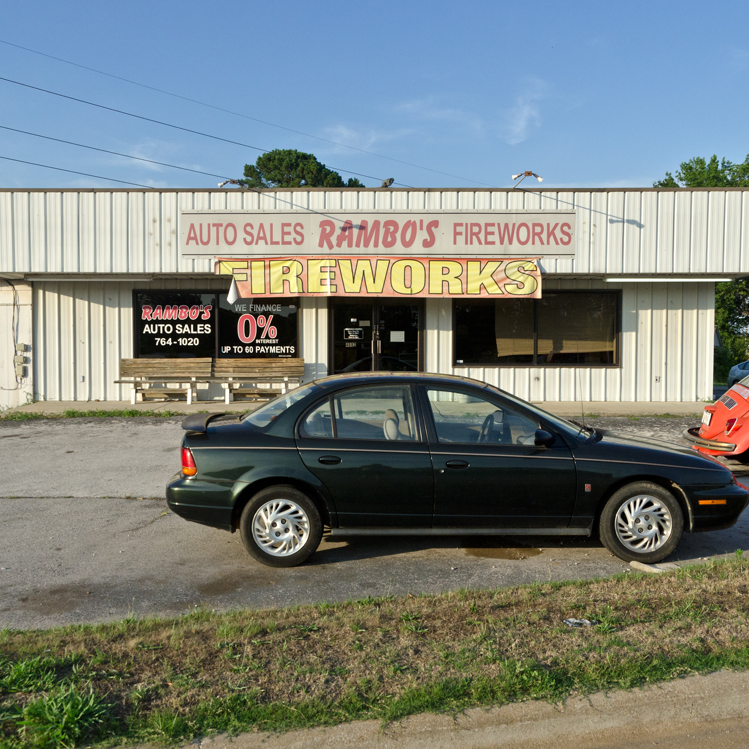 Rambo's Auto Sales and Fireworks. Huntsville, AL.