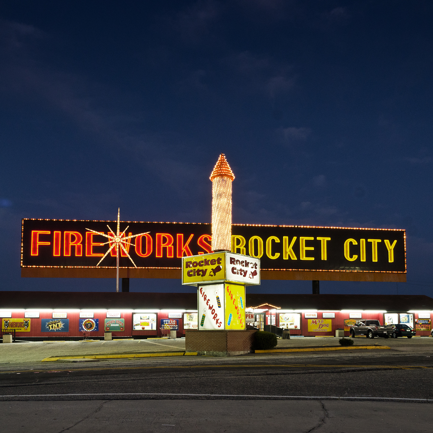 Rocket City. South of the Border, SC.