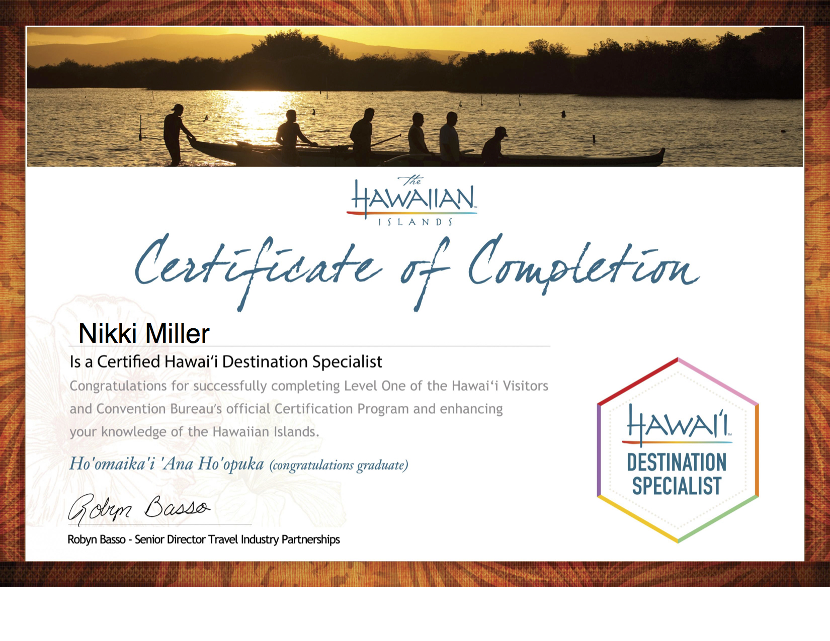 Certificate- Hawaii Destination Specalist.jpg