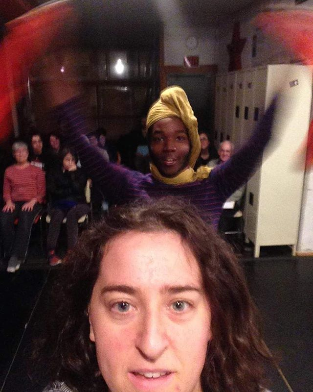"Tomorrow at our ""First Friday: HPI Alumni,"" Mira Treatman ('15) and Rah will perform their ""Duet #3."" Come to see this work and more at 6:30 and 8pm. You don't want to miss this showing and celebration! Event link in bio #hpialums #headlong #performanceart #philadelphia #southphilly #goodstuff"