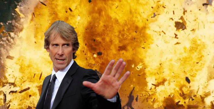 Michael Bay and explosions was the Internet's favorite joke for a while.
