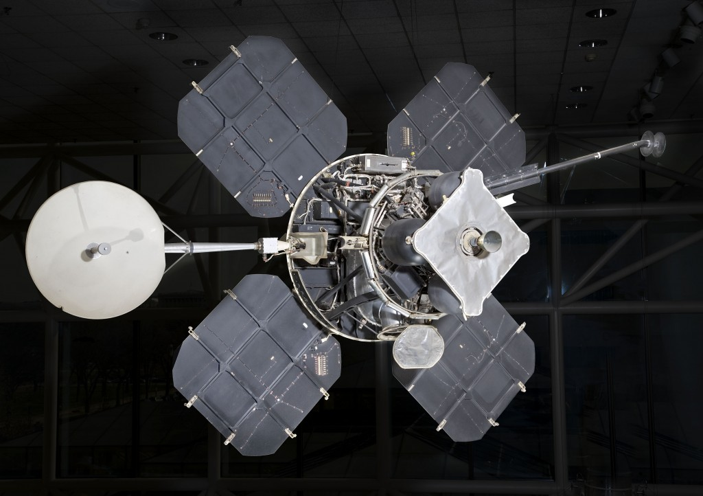 Lunar Orbiter (Image: National Air and Space Museum )