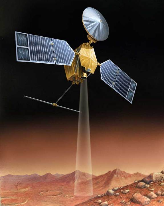 An illustration of the Mars Reconnaissance Orbiter (Image: Space.com )