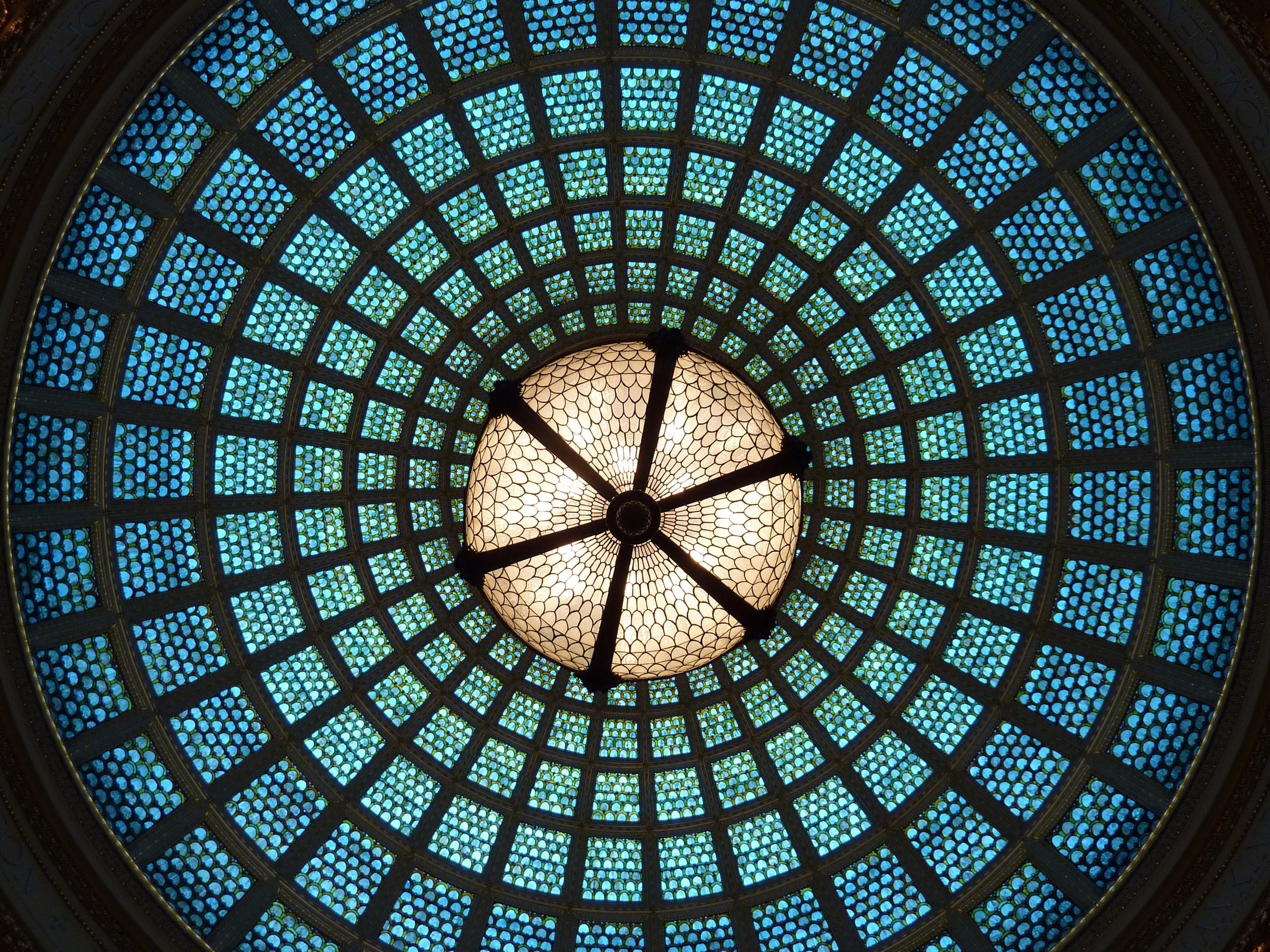 Preston Bradley Hall, Chicago Cultural Center, Chicago. (Image:  Blueprint: Chicago )