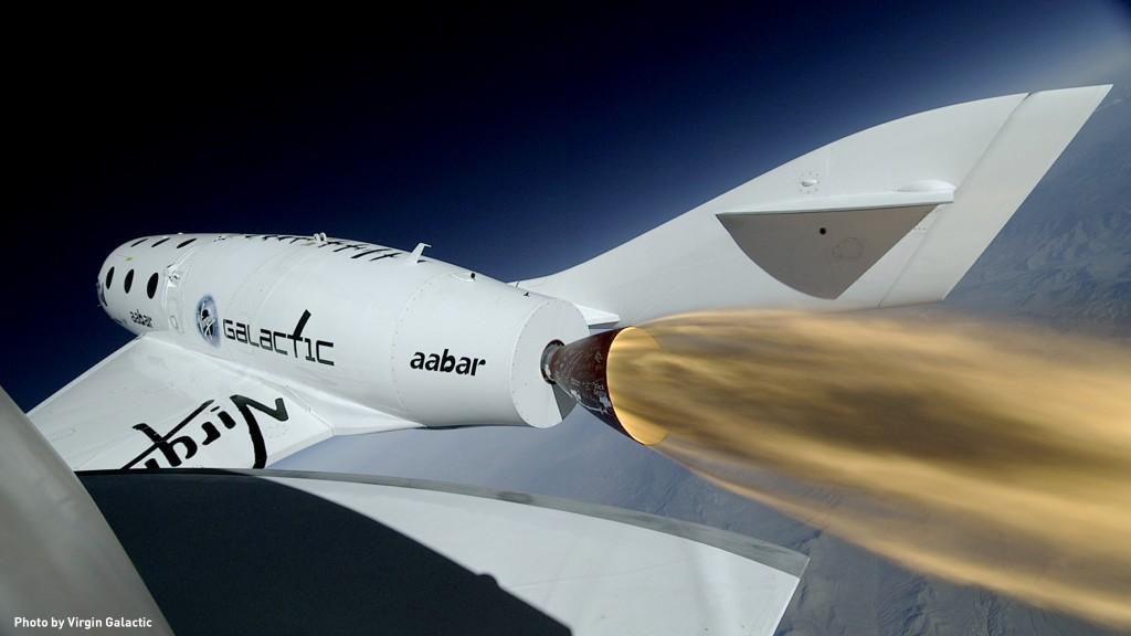 Virgin Galactic's SpaceShip2
