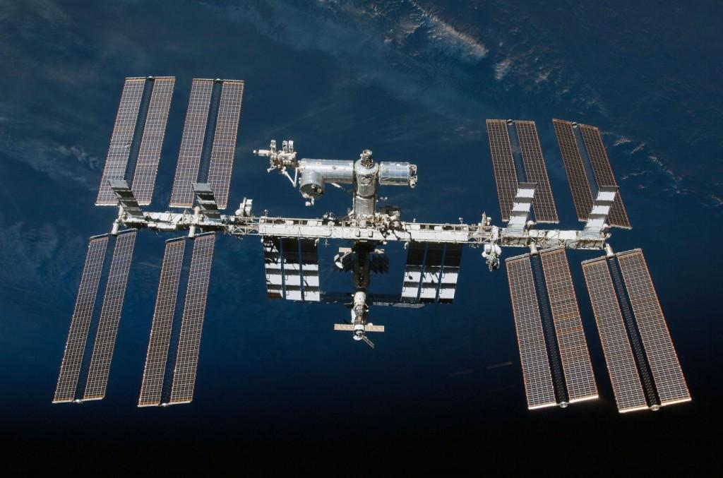 The International Space Station (via   ESA  )