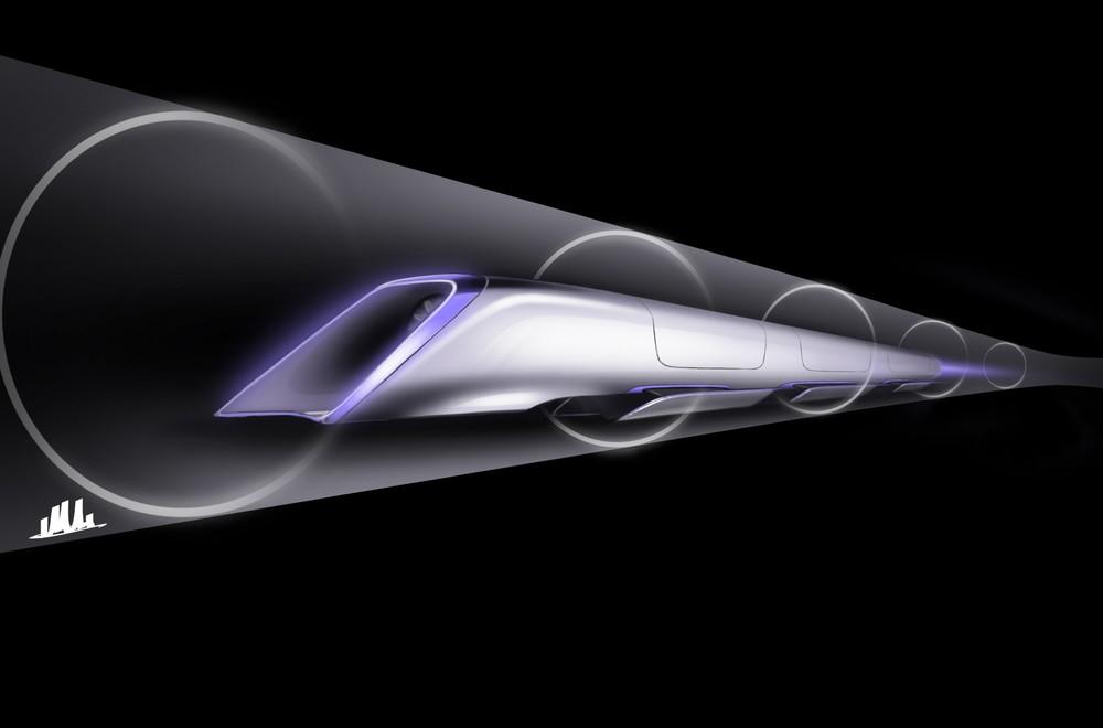 Image: Hyperloop / Tesla Motors.