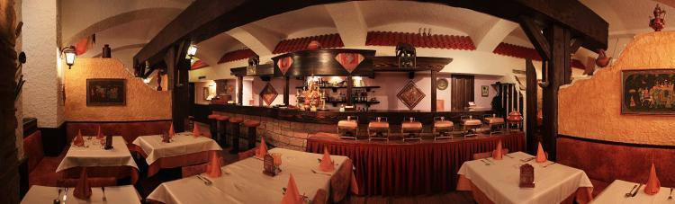Inside  Indian Village Restaurant