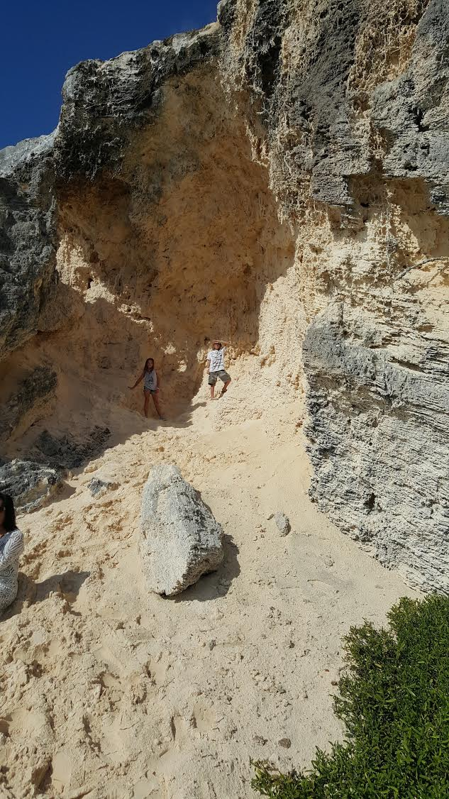 Exploring Punta Sur