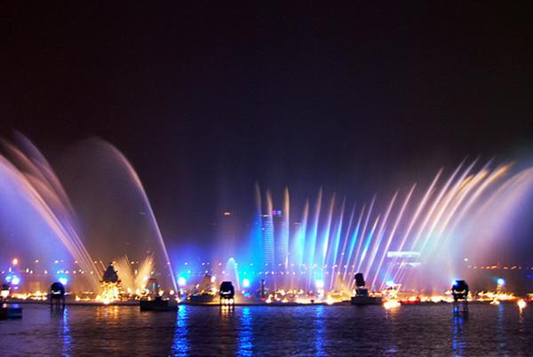 The Music Fountain  ,Jinji Lake