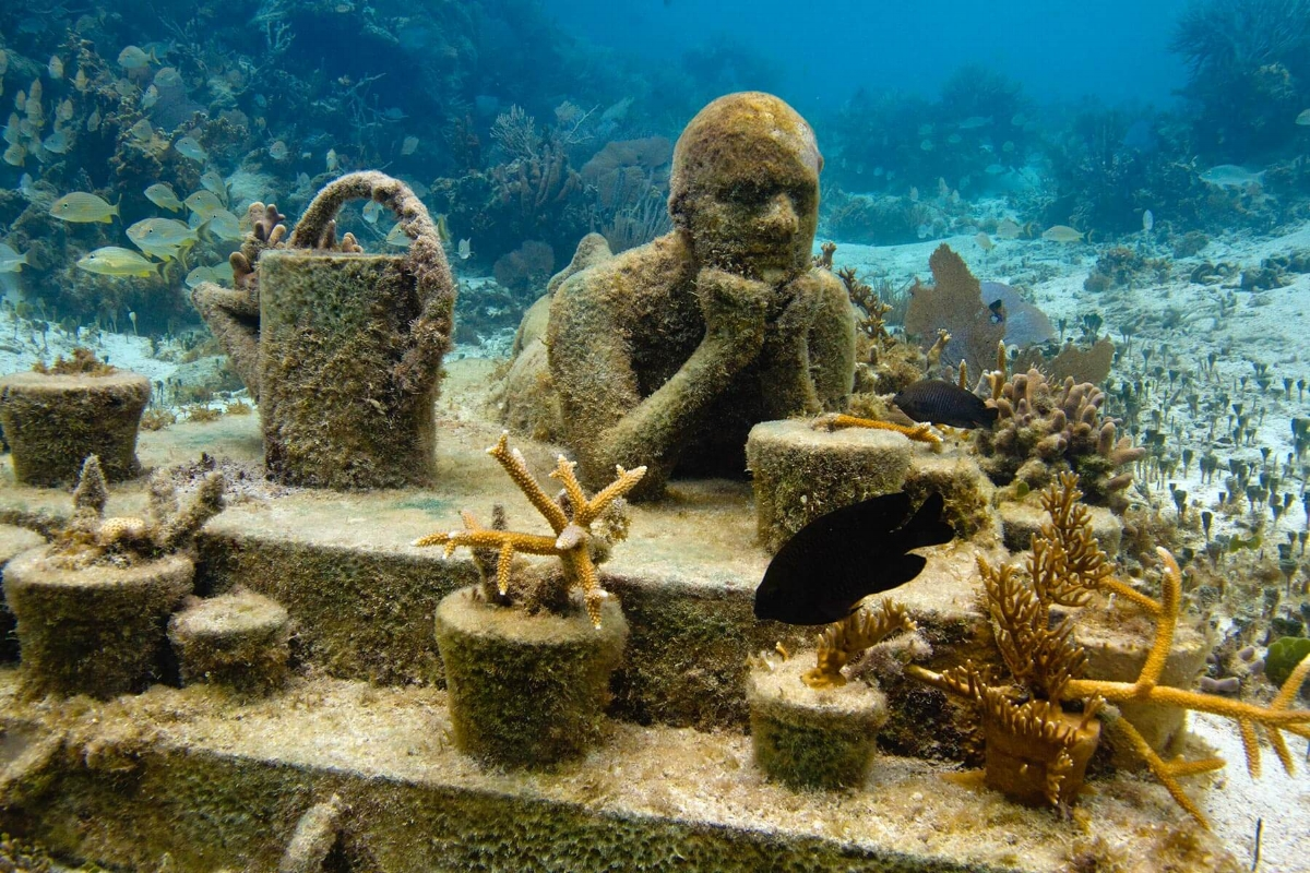 The Gardener of Hope (  Jason Decaires Taylor  )