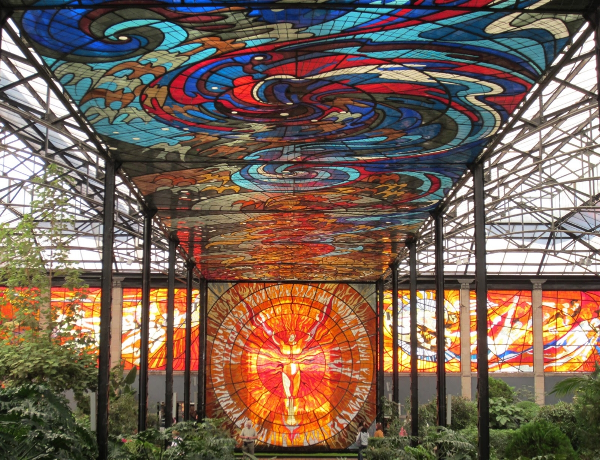 Cosmovitral Botanical Garden, Toluca, Mexico. (Image:  La Senora, The Storyteller )