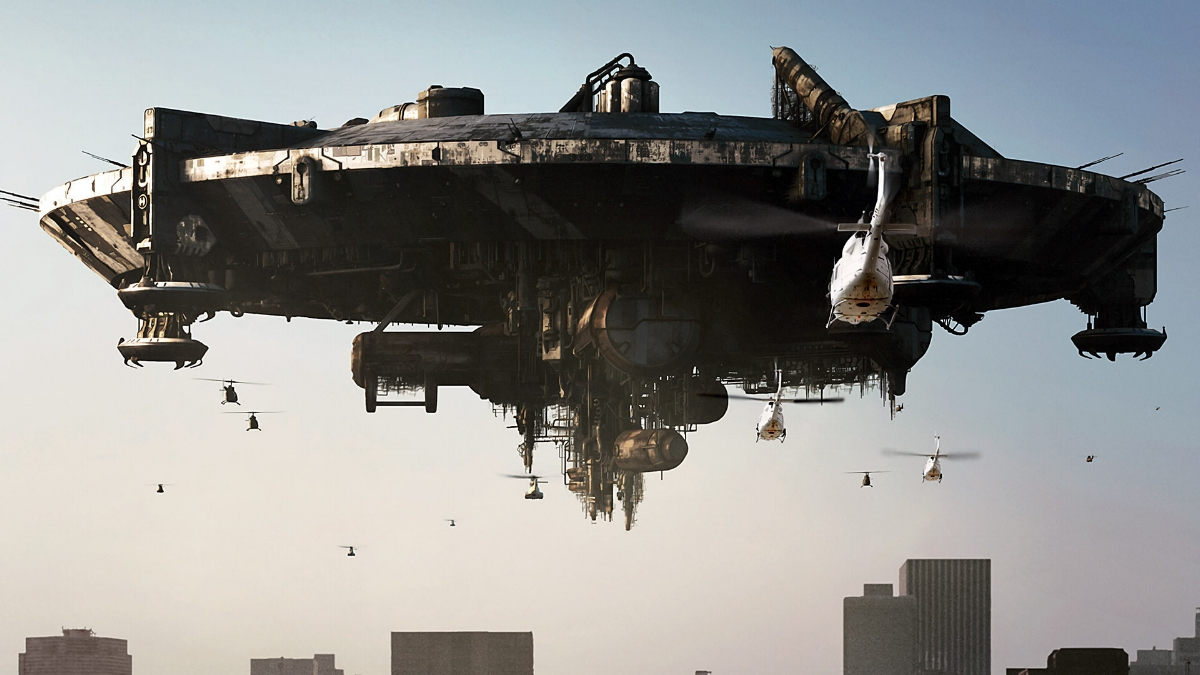 A ship from   District 9  . Not bad for $30 million!