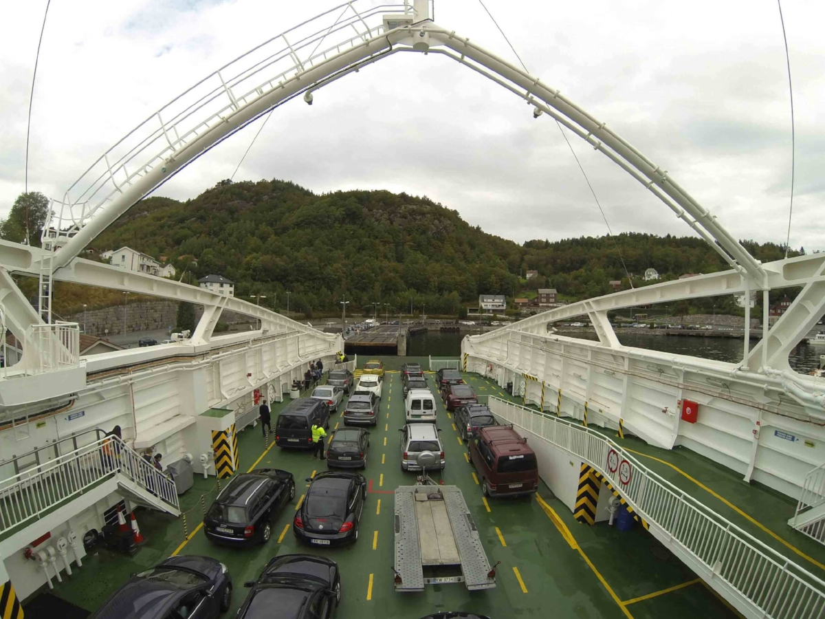 Ferries are your friend when traveling