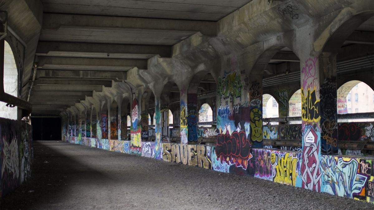 Rochester New York Subway Graffiti Street Art