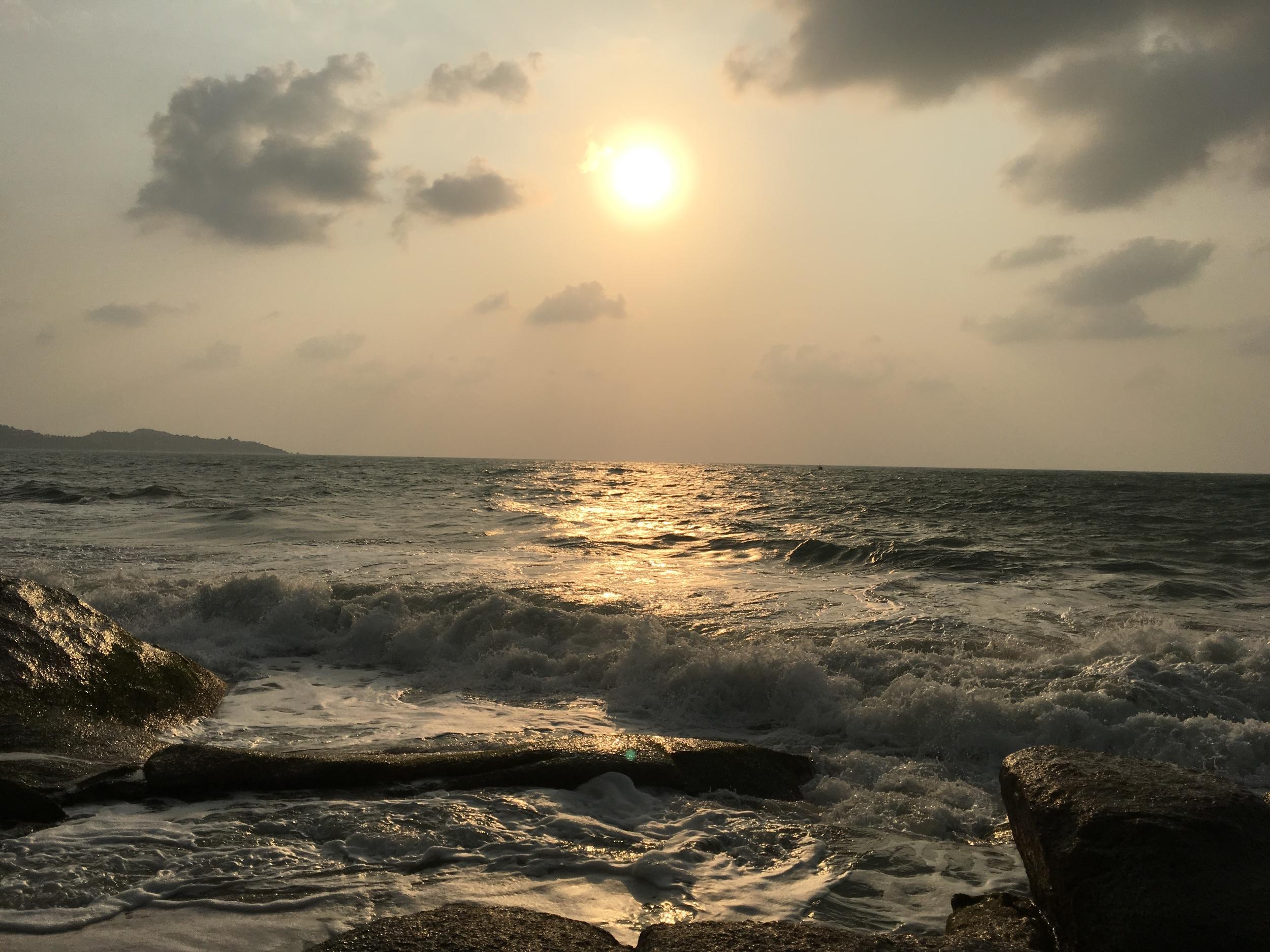 A Sunrise in Thailand