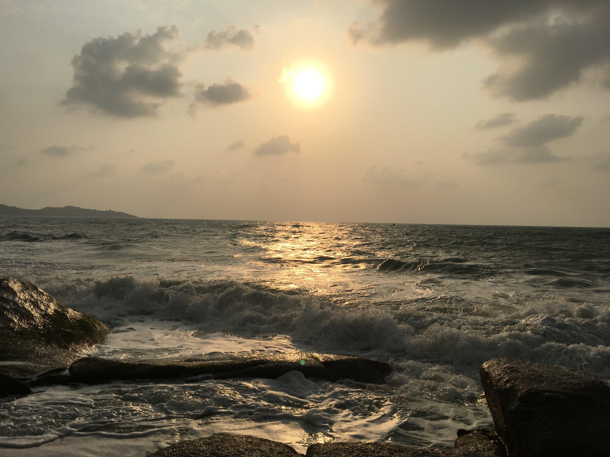 Lemai Beach at Sunrise