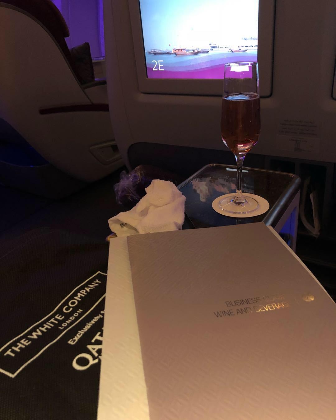 Qatar Airways Boeimg 777-300ER Business Class Product