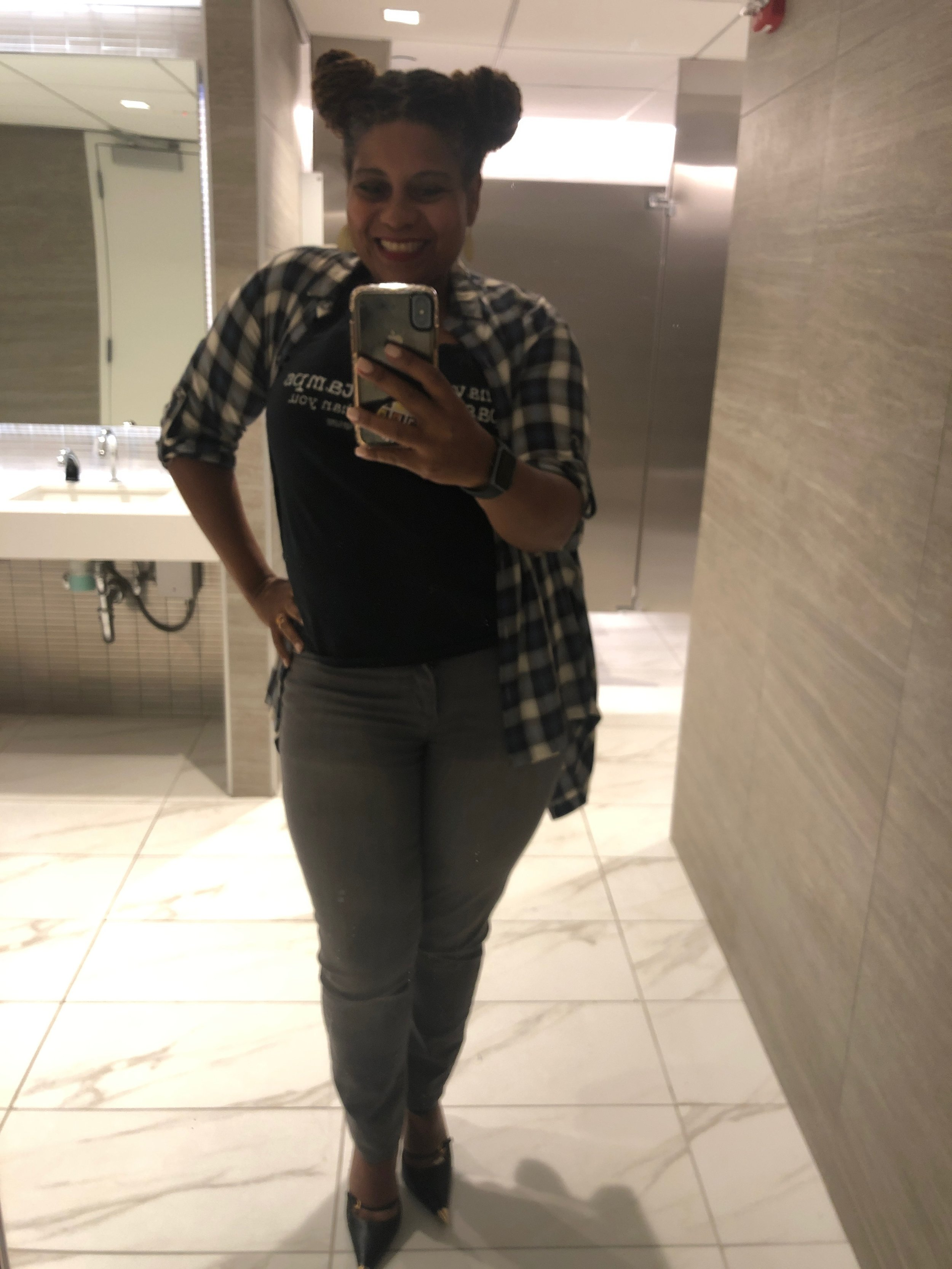 A waist …I have a waist!!!!!