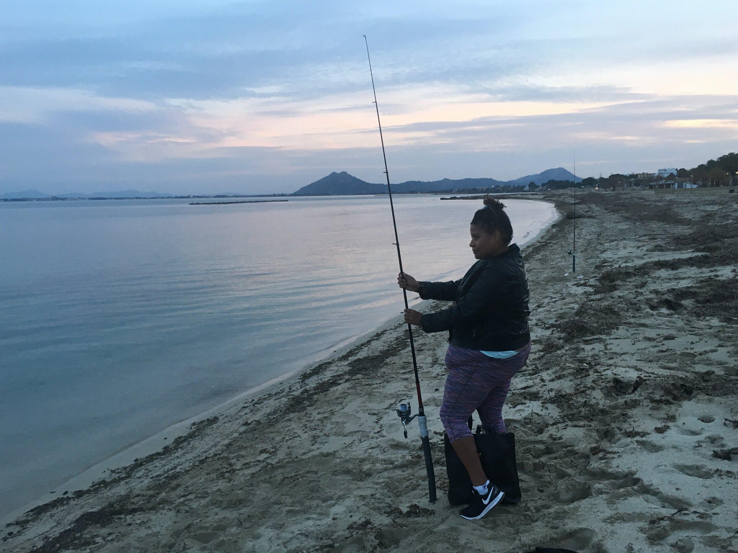 Fishing in Spain