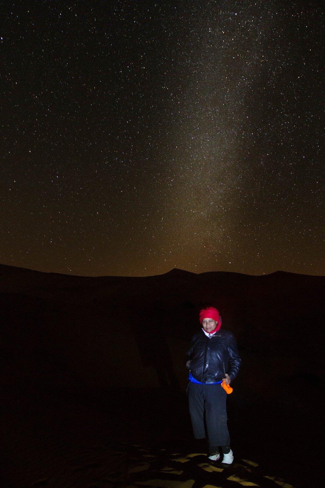 A Night in the Sahara