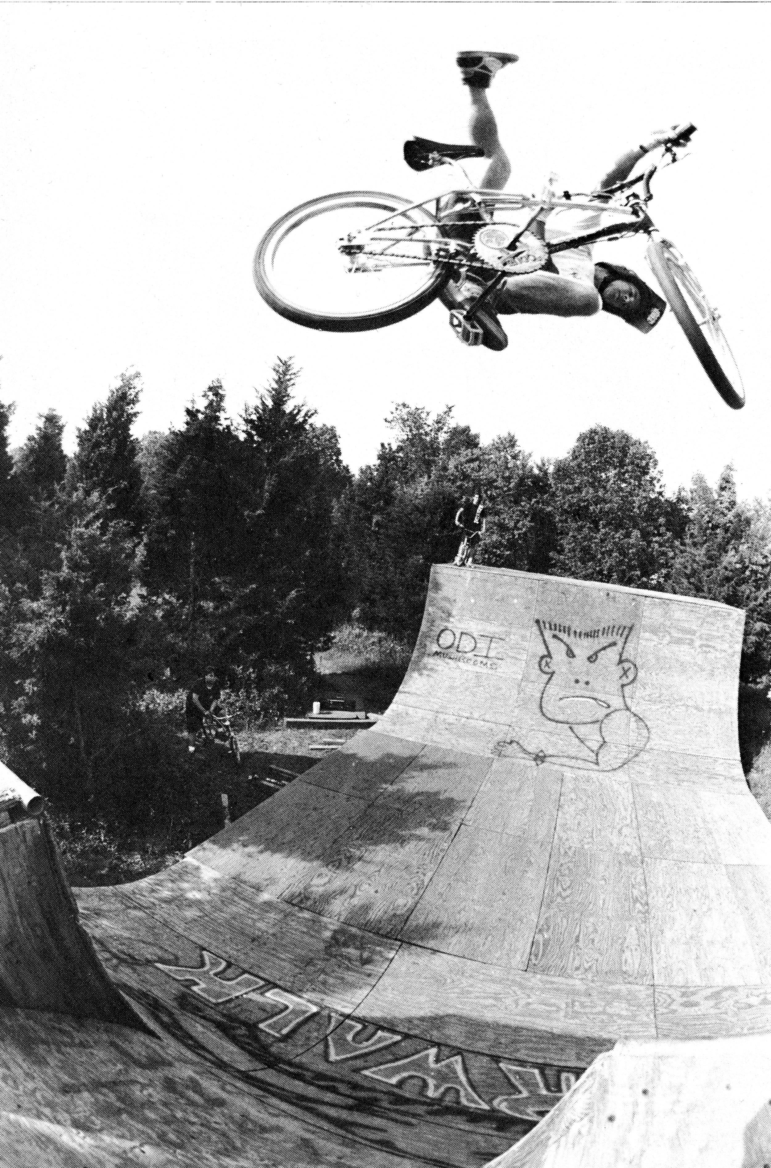 Jeff Mayer - Jeff rode Pro Vert back in the late 80's, early 90's and his specialty was vert and trail riding. He has over 25 years experience and can be booked for private BMX Sessions this summer!