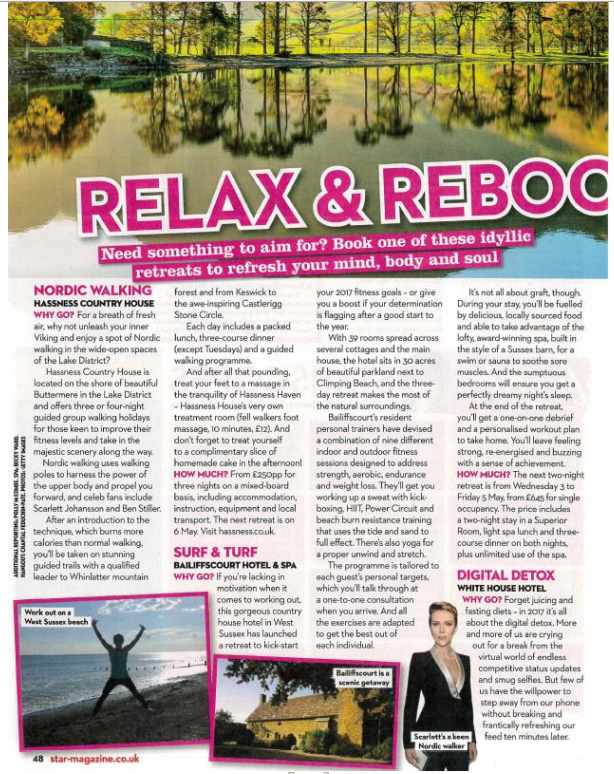 health and fitness retreat press