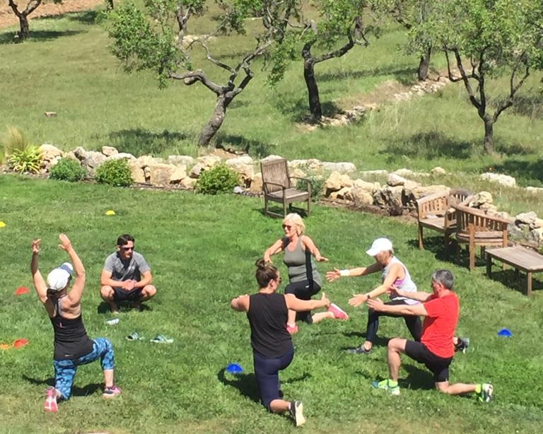 trail running in the spanish mountains fitness retreat