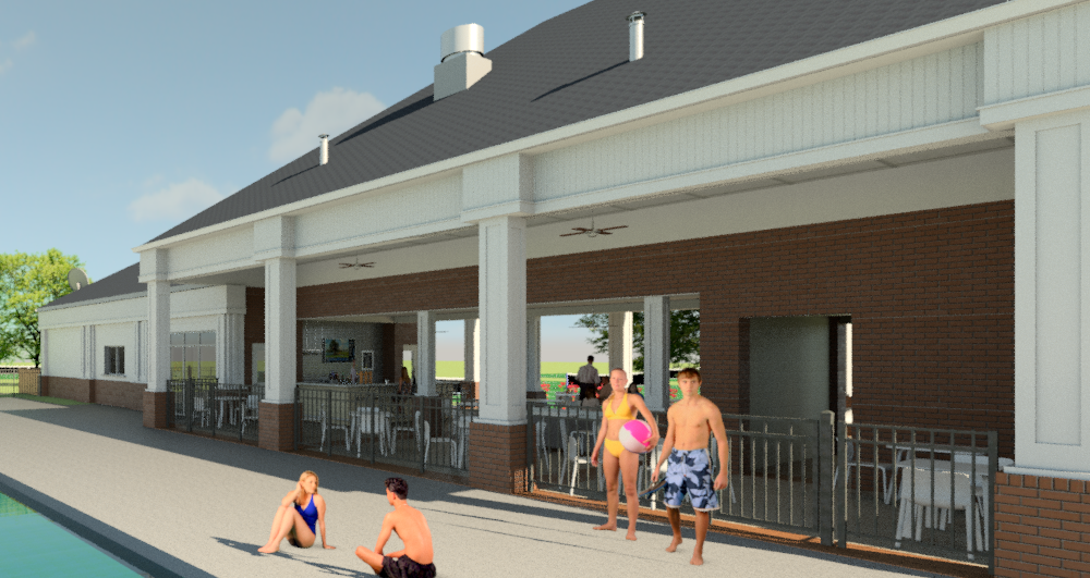 Louisville Boat Club Pool Pavillion