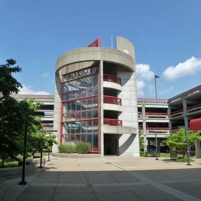 University of Louisville Belknap Parking Garage
